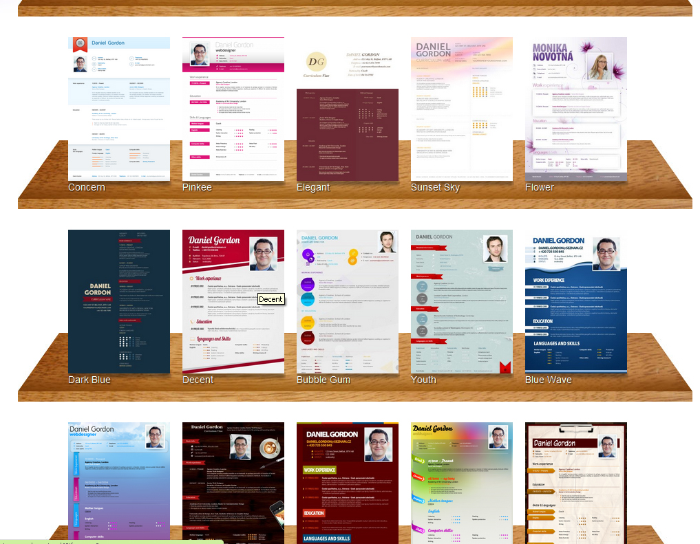 online creative resume builder resumesimo creating stand out resumes for free