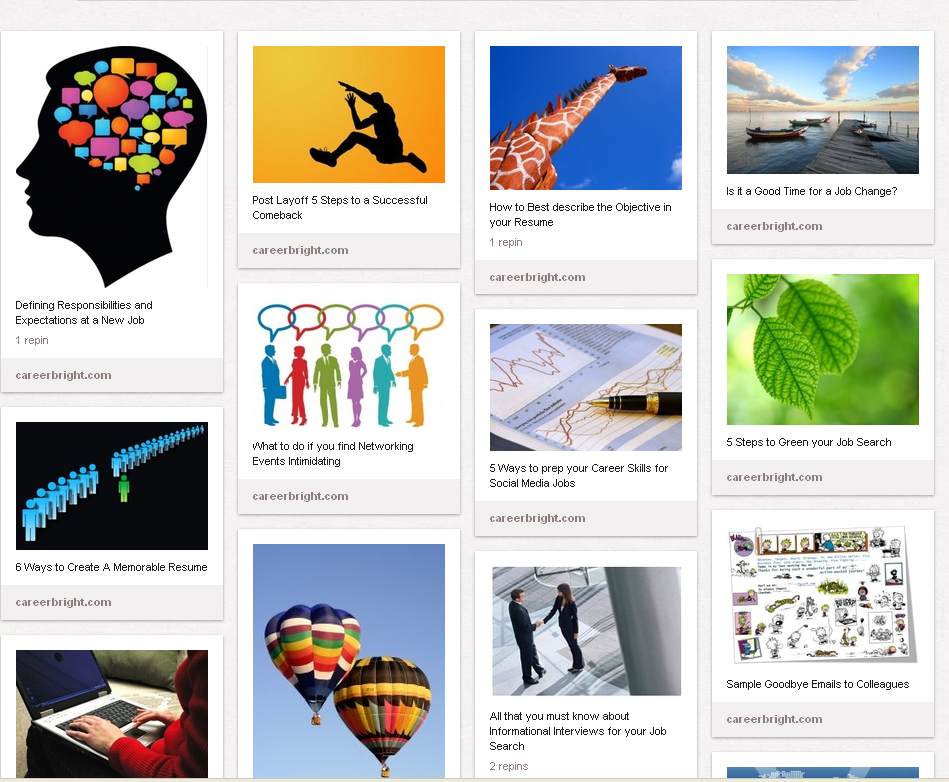how to use pinterest to snag creative jobs